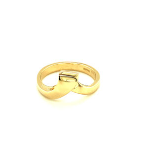 'Loop' Gold Ring