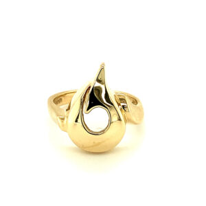 """""""A Moment In Time"""" Gold Ring"""