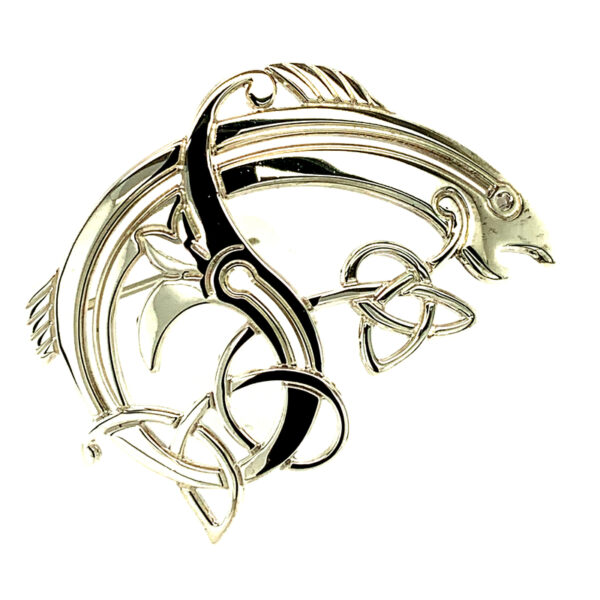 Salmon of Knowledge Brooch