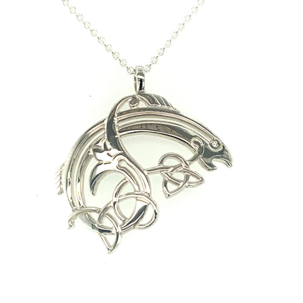 Small Salmon of Knowledge Pendant