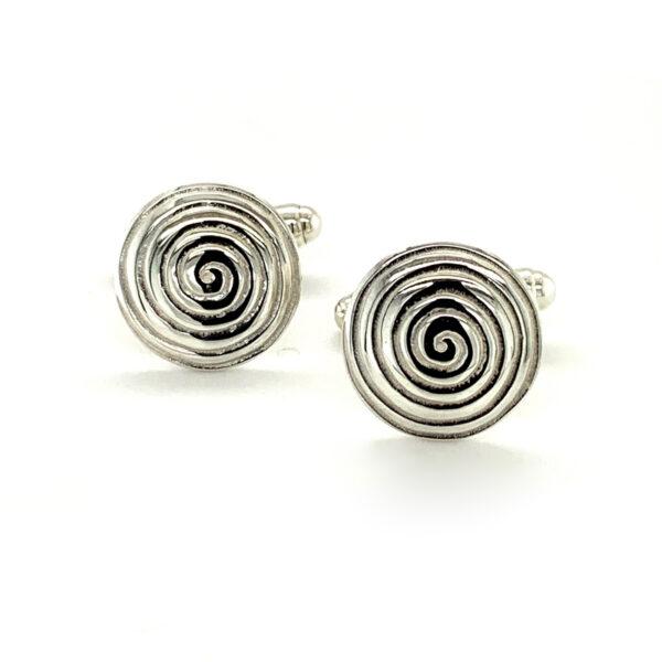 Spiral of Life Cufflinks