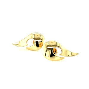 'A Moment in Time' Gold Earrings