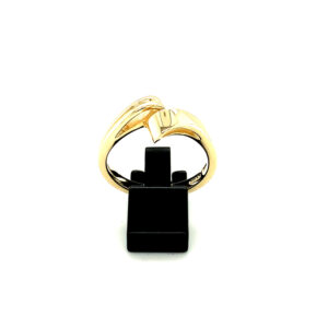 'Crossover' Ring - Gold